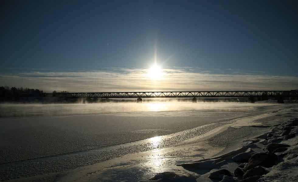 midnight-sun at finland