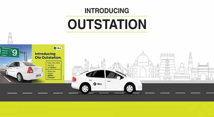 Ola cabs to introduce One-Way trip fares with Ola outstation