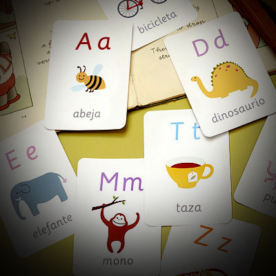 Cards for learning