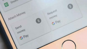 Gmail iOS app send and request money